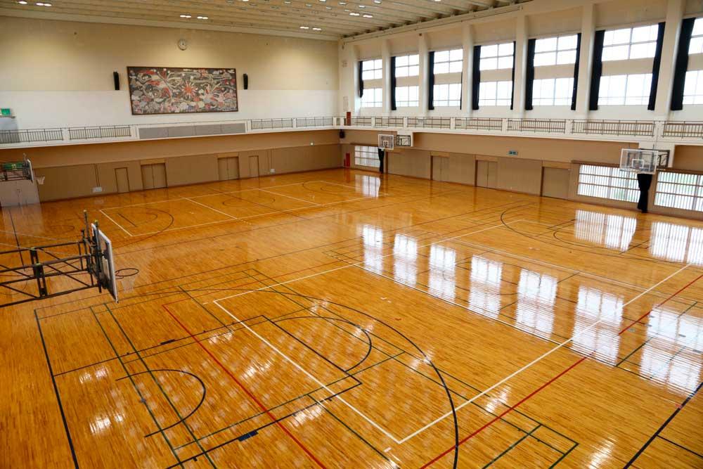 金武町体育施設:体育館